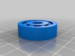 轴承 滚珠轴承 3D模型