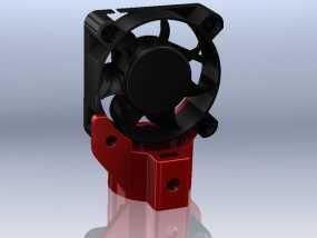 风扇架 3D模型