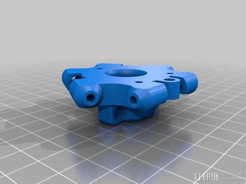 Bowden 挤出机 3D模型  图6