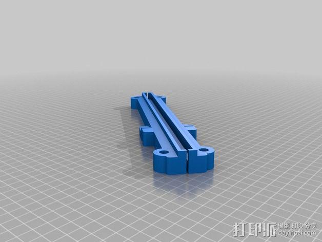 打印机Y轴光杆  3D模型  图2