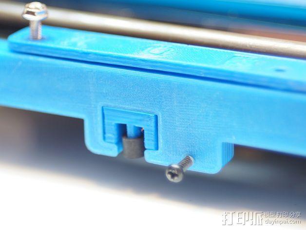 打印机Y轴光杆  3D模型  图3