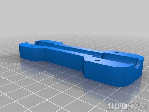 打印机Y轴光杆  3D模型  图5