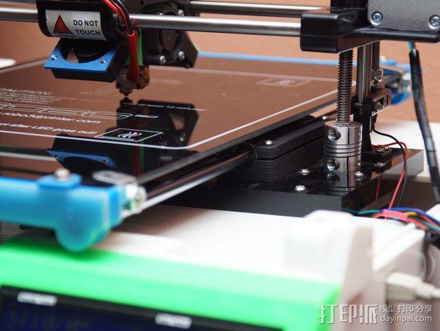 打印机Y轴光杆  3D模型  图4