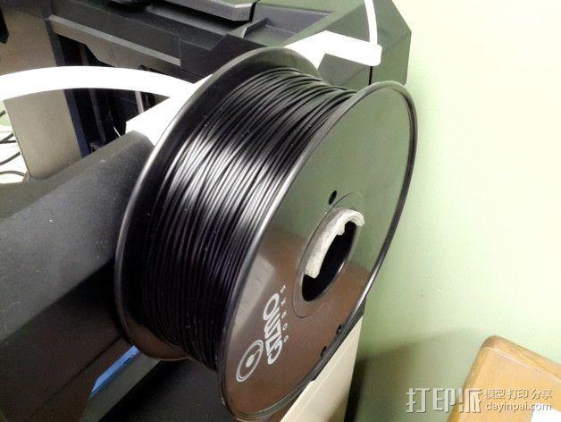 MakerBot打印机的线轴架 3D模型  图2