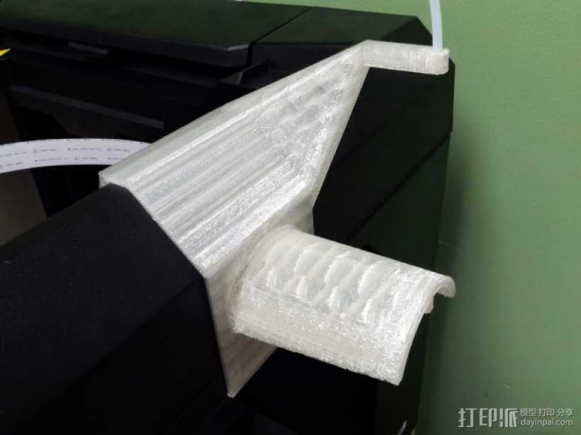 MakerBot打印机的线轴架 3D模型  图1