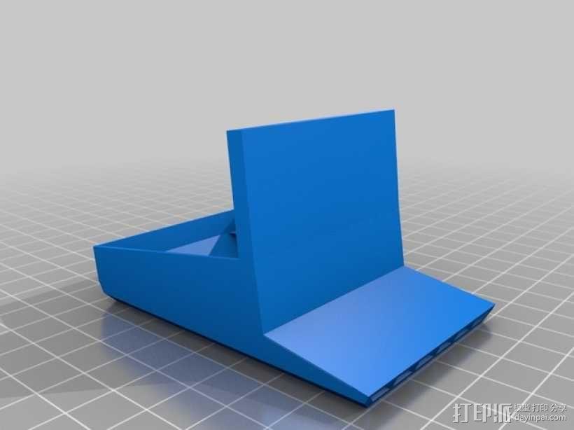 打印机XYZ轴的风扇架 3D模型  图2