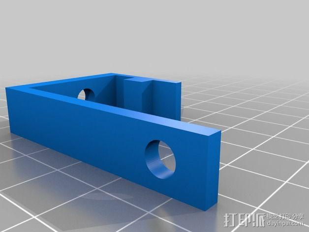 通用式线轴架 3D模型  图2