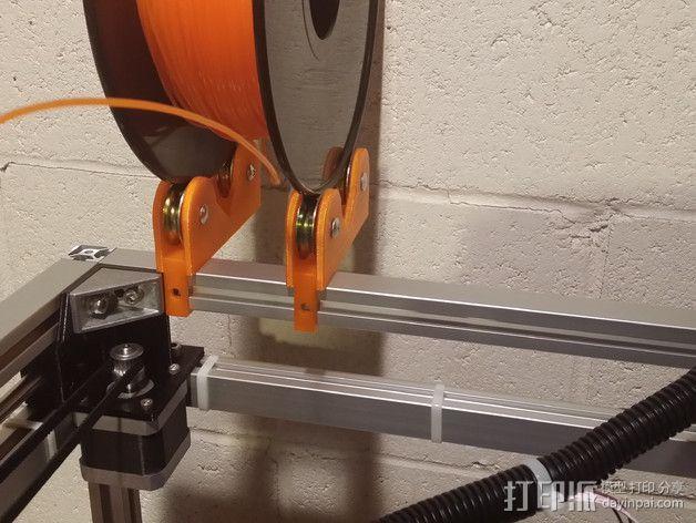 通用式线轴架 3D模型  图8