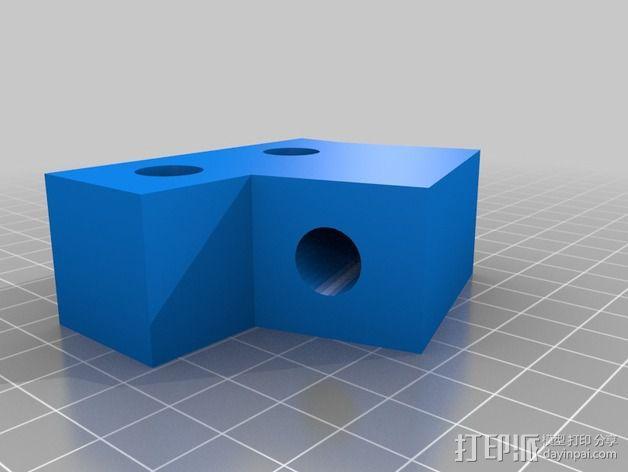 Prusa i3打印机稳定器 3D模型  图2