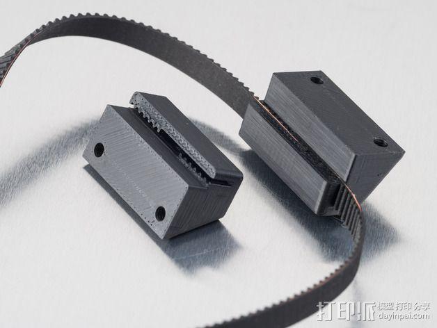皮带连接器 3D模型  图3