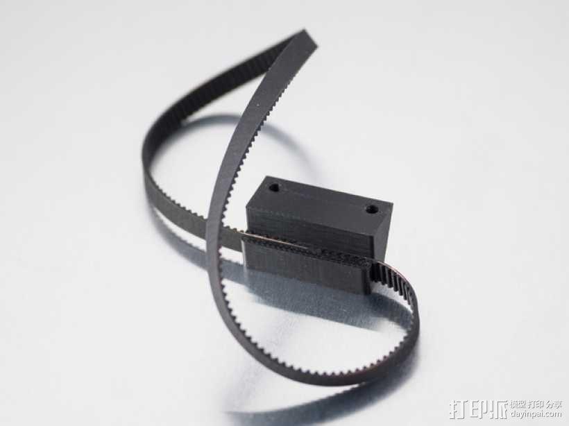 皮带连接器 3D模型  图1