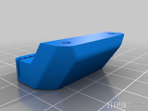 皮带连接器 3D模型  图4