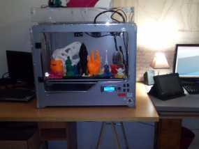 XL3D RepRap打印机 3D模型
