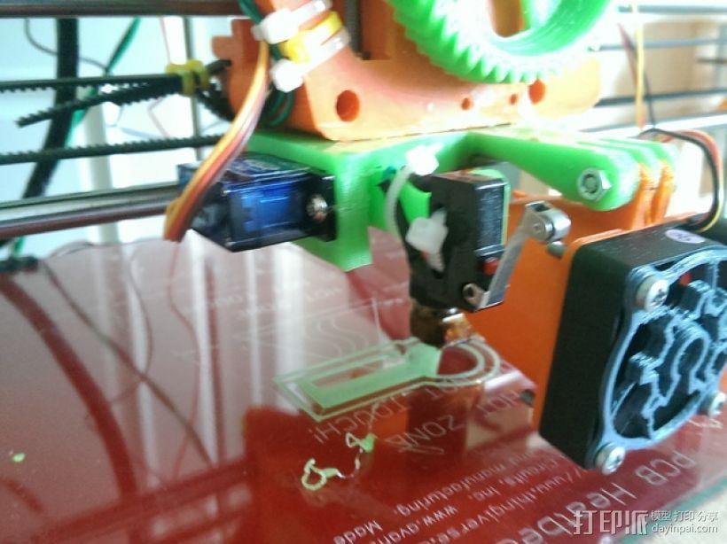 打印机自动调平杆 3D模型  图1