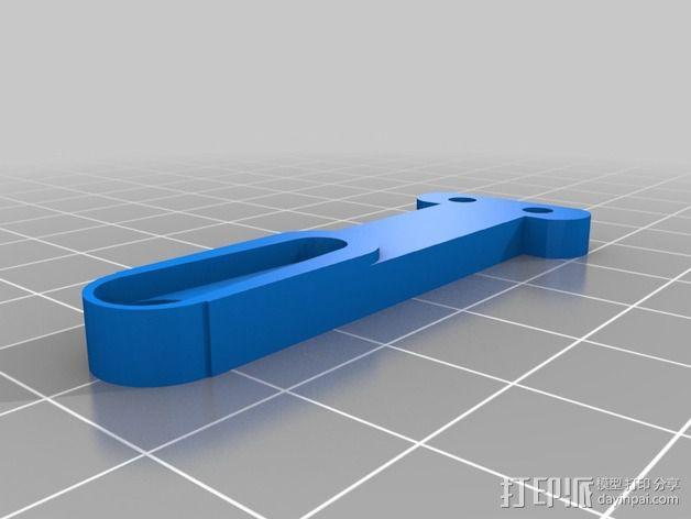 打印机自动调平杆 3D模型  图4