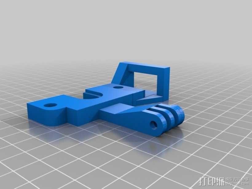 打印机自动调平杆 3D模型  图3