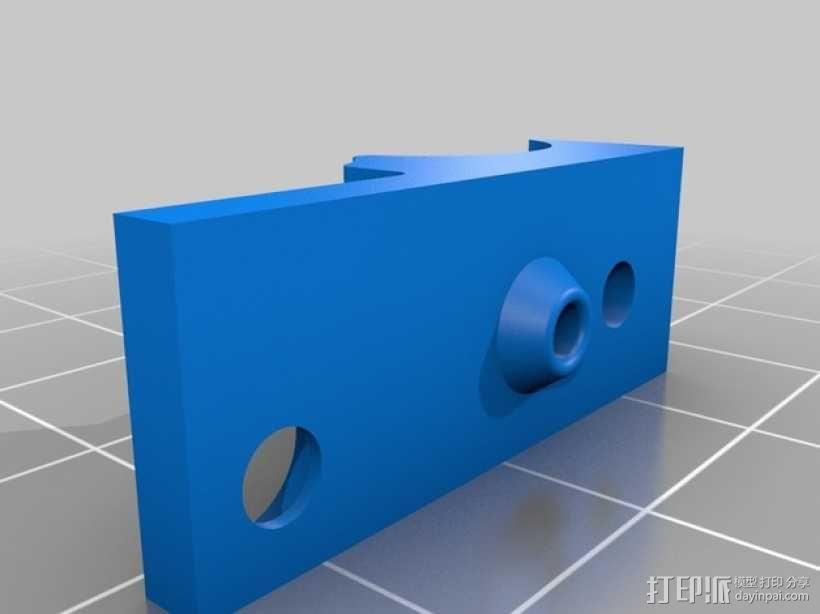 RigidBot打印机材料架 3D模型  图3