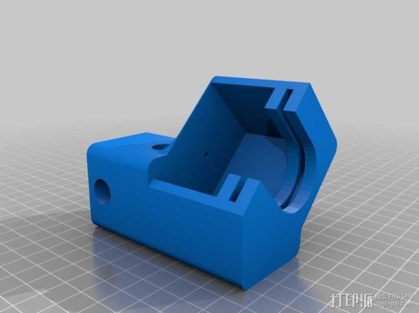 3D巧克力打印机 3D模型  图2