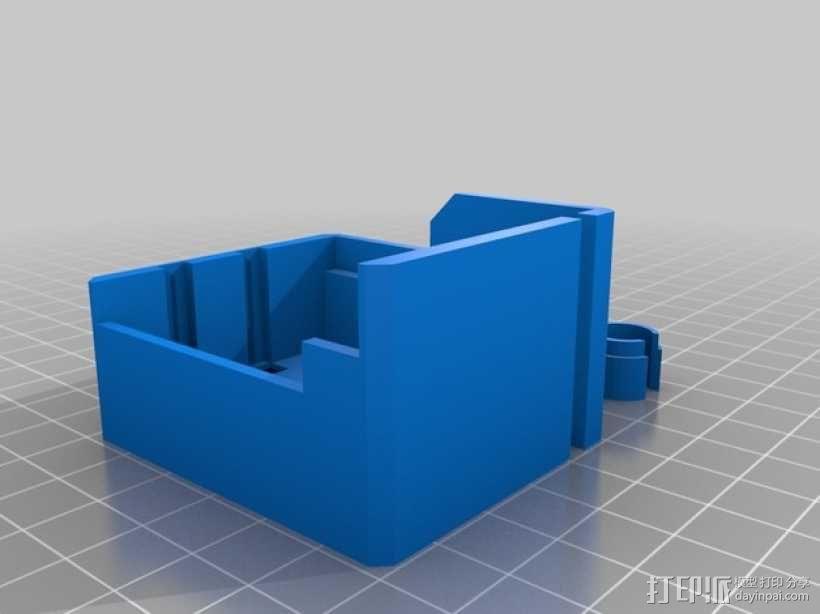 挤出机罩 3D模型  图3
