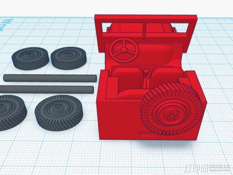 威利斯越野车 3D模型  图4