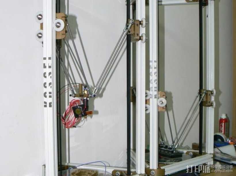 kossel800 delta 3d打印机  3D模型  图6