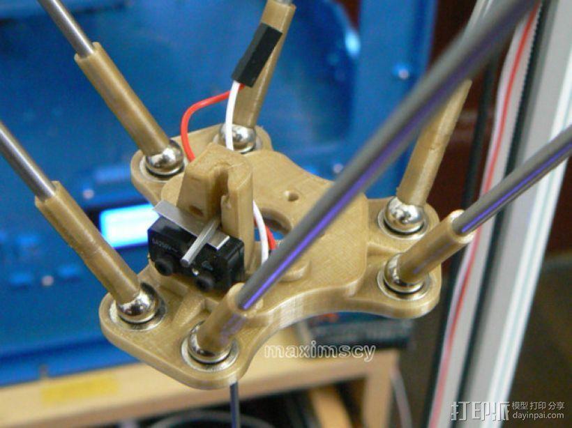 kossel800 delta 3d打印机  3D模型  图7