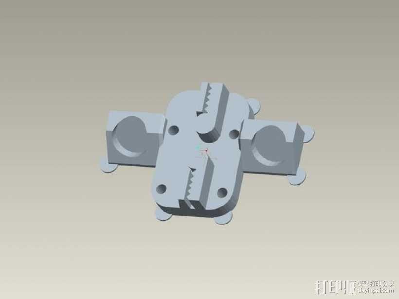 kossel800 delta 3d打印机  3D模型  图15