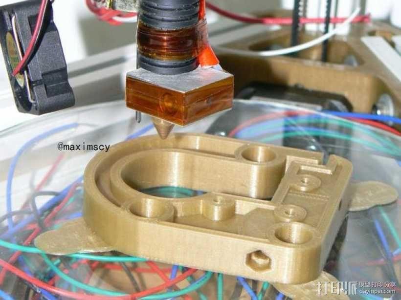 kossel800 delta 3d打印机  3D模型  图13