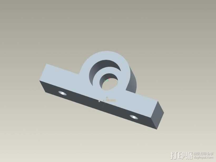 kossel800 delta 3d打印机  3D模型  图14