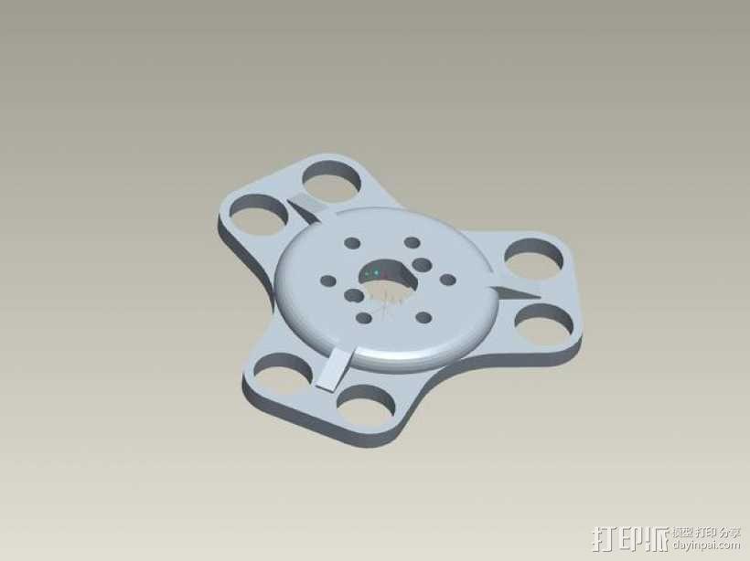 kossel800 delta 3d打印机  3D模型  图21