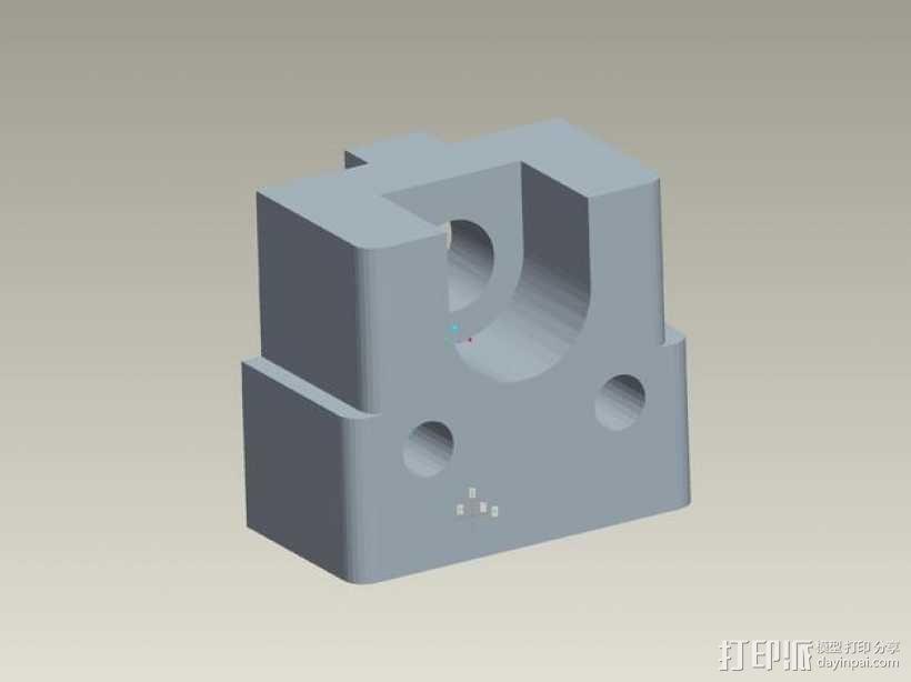 kossel800 delta 3d打印机  3D模型  图18