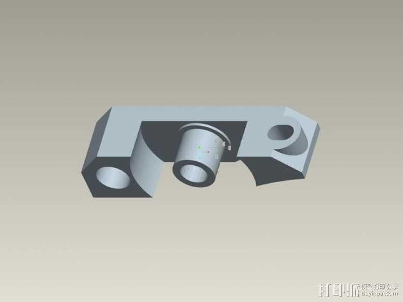 kossel800 delta 3d打印机  3D模型  图19