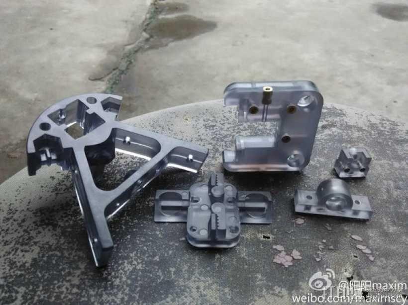 kossel800 delta 3d打印机  3D模型  图24