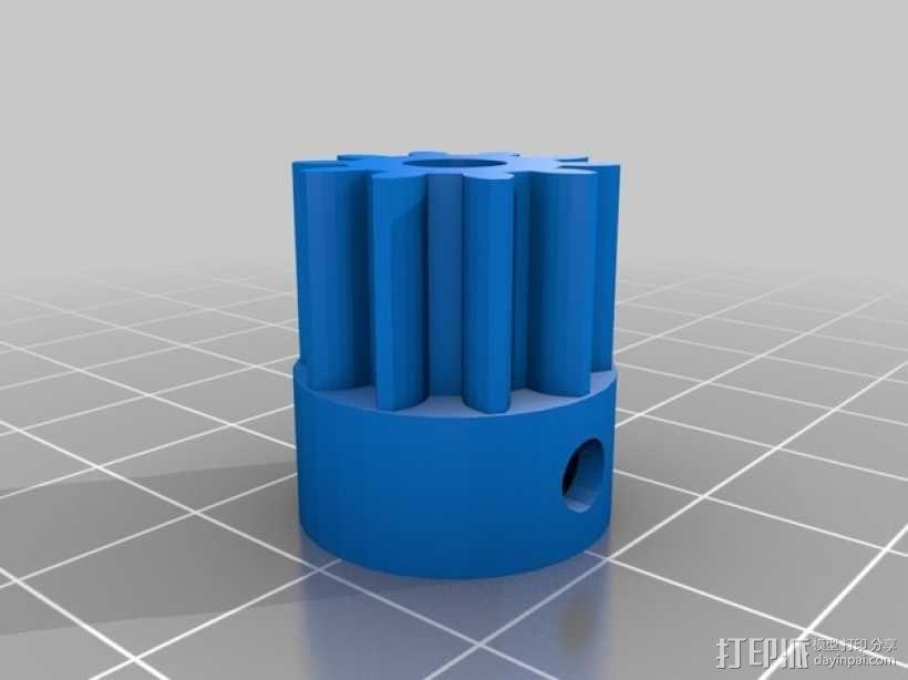 Bowden 鲍登此轮挤出机 3D模型  图2
