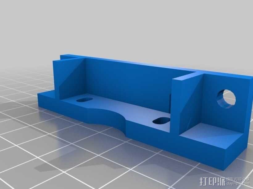 Bowden 鲍登此轮挤出机 3D模型  图6