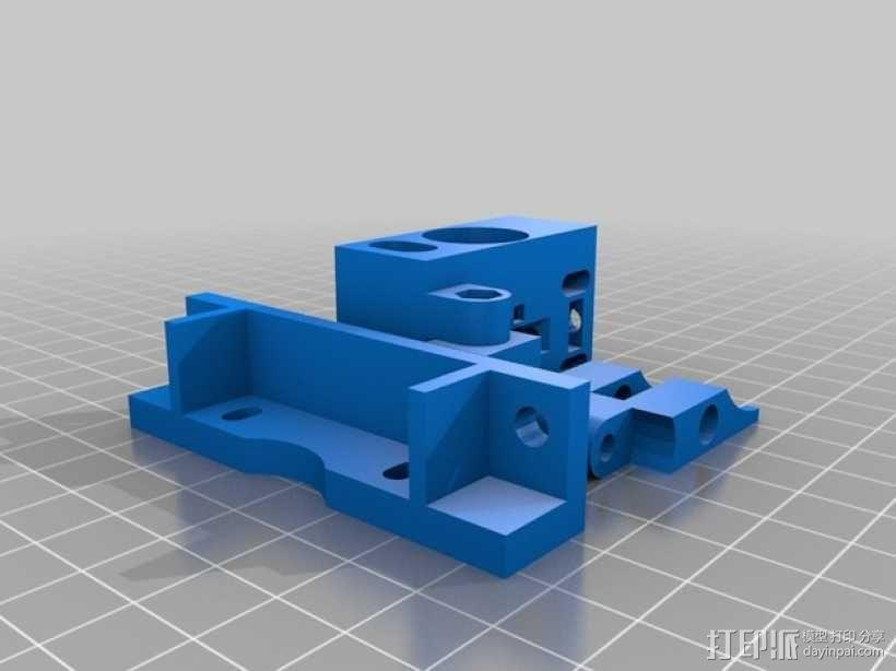 Bowden 鲍登此轮挤出机 3D模型  图9