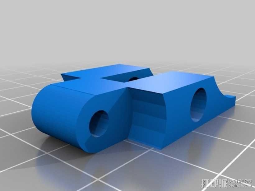 Bowden 鲍登此轮挤出机 3D模型  图8