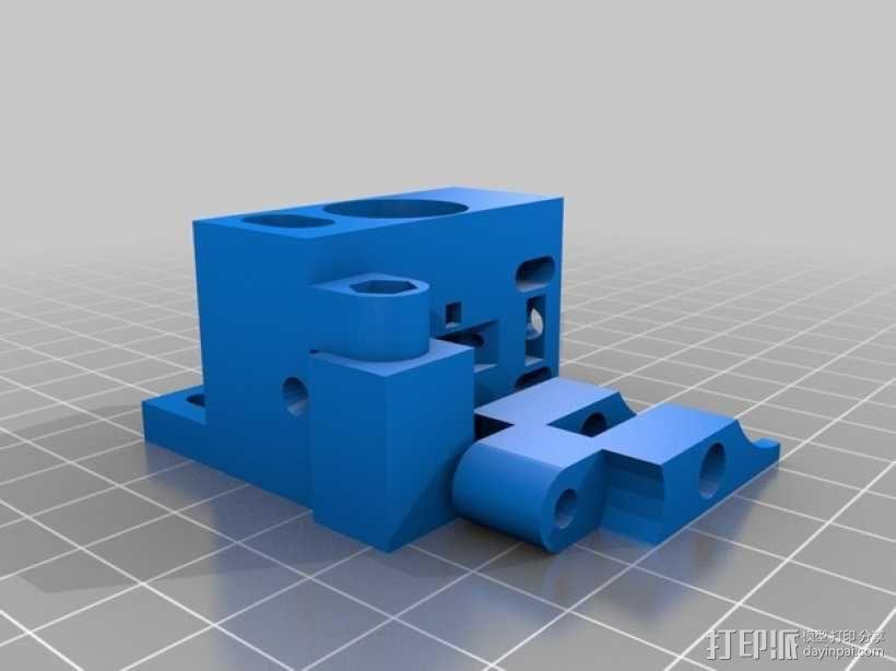 Bowden 鲍登此轮挤出机 3D模型  图10