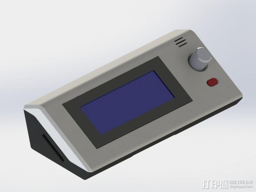 RepRapDiscount 智能控制器保护外壳 3D模型  图1