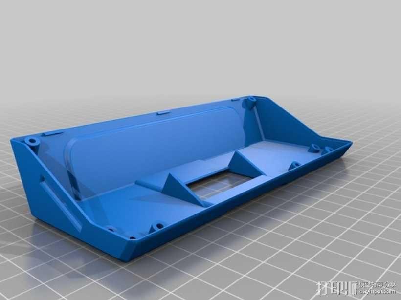 RepRapDiscount 智能控制器保护外壳 3D模型  图2
