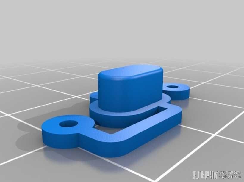 RepRapDiscount 智能控制器保护外壳 3D模型  图3