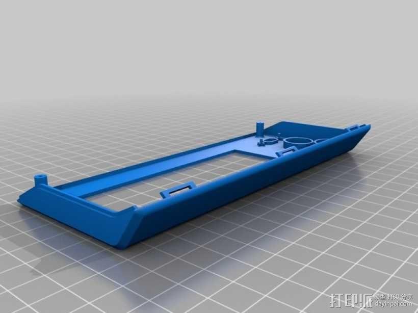 RepRapDiscount 智能控制器保护外壳 3D模型  图4