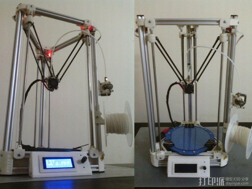 Delta'Q 3D打印机 3D模型  图4