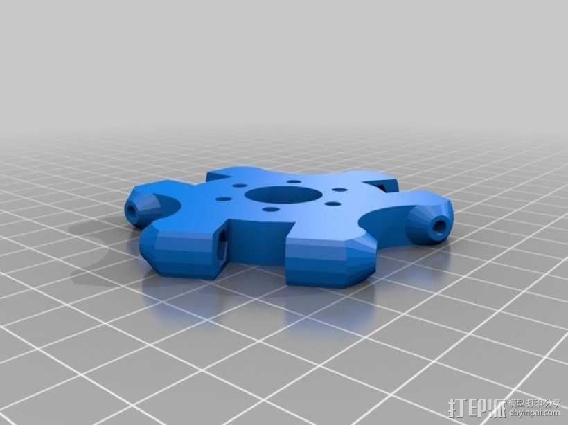 Delta'Q 3D打印机 3D模型  图6