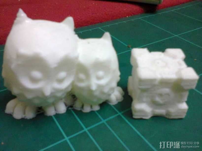 Delta'Q 3D打印机 3D模型  图5