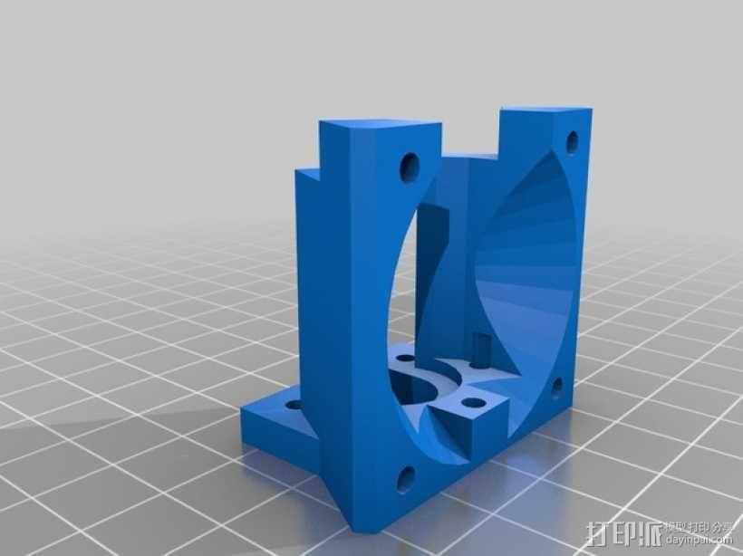 Delta'Q 3D打印机 3D模型  图7