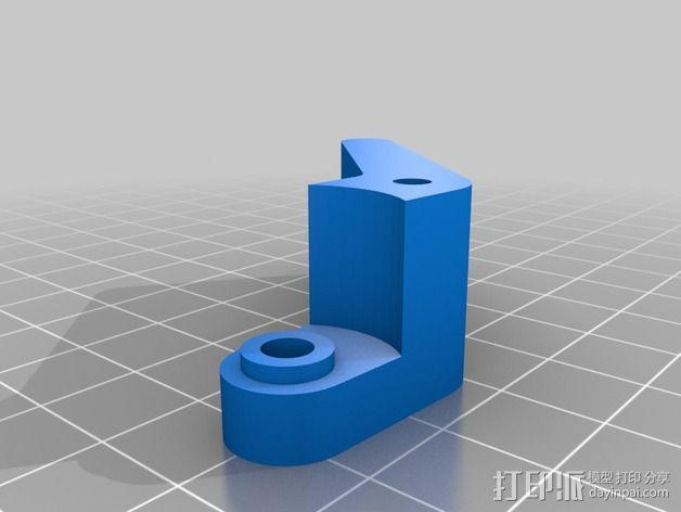 直线驱动挤出机 3D模型  图4