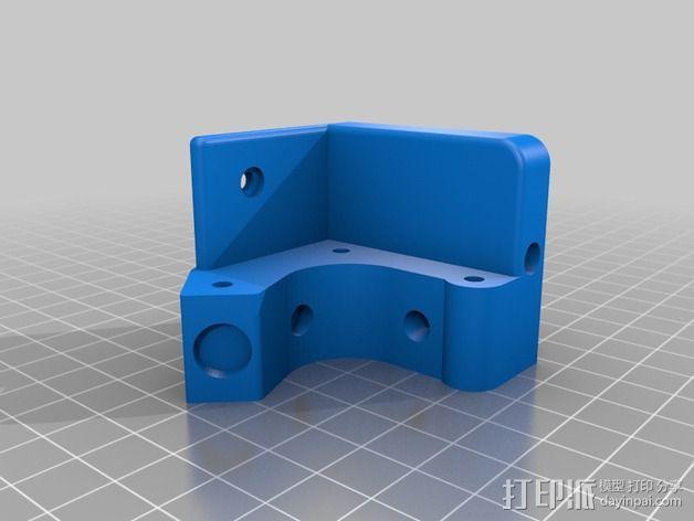 直线驱动挤出机 3D模型  图5
