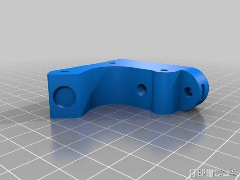 直线驱动挤出机 3D模型  图12