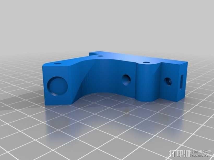 直线驱动挤出机 3D模型  图13
